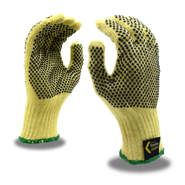 Kevlar gloves with dots