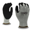 commander cut resistant a6 glove with nitrile palm