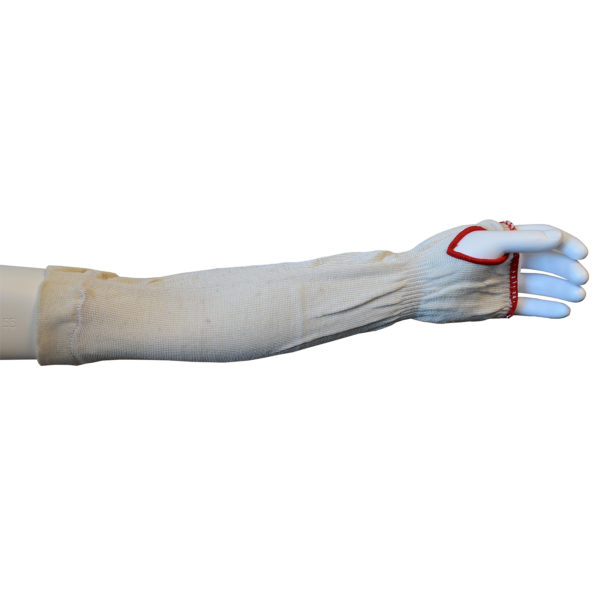 ripcord a2 cut resistant sleeve 18 inch with thumb slot