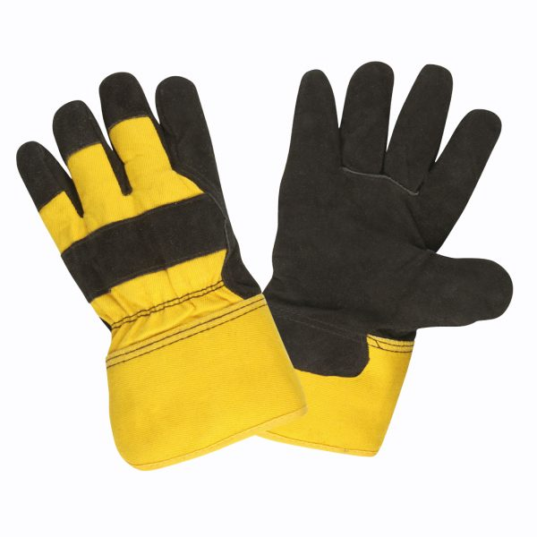 Leather Palm, Split Cowhide, Insulated, Safety Cuff: #74101
