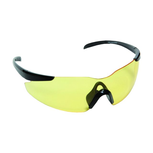 opticor safety glasses amber lens