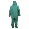 Cordova Safety Products green chemical suit back