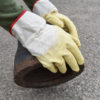Cordova safety products supported latex glove action