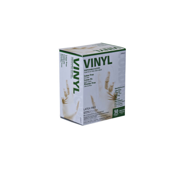 50-Pack Vinyl Gloves