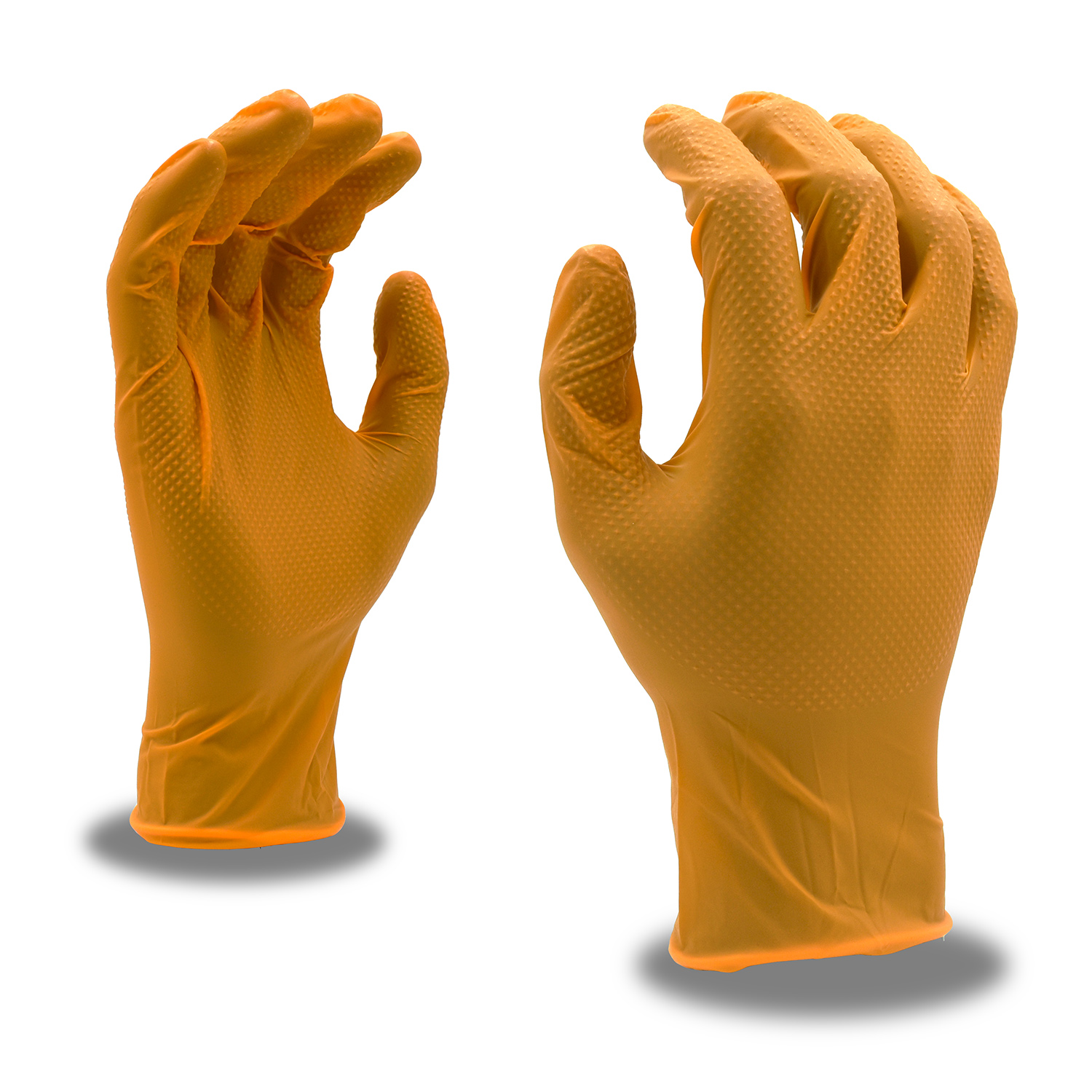 Orange Disposable Gloves