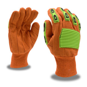 High Visibility Cotton Gloves