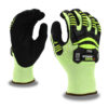 ogre-crx a3 cut level mechanics glove with sonic-welded tpr