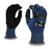 ogre-crx a2 cut level mechanics glove with sonic-welded tpr