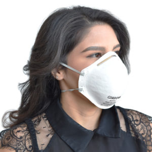 NX95 contoured disposable face mask