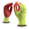 aramid steel A4 cut resistant gloves with foam nitrile palm coating