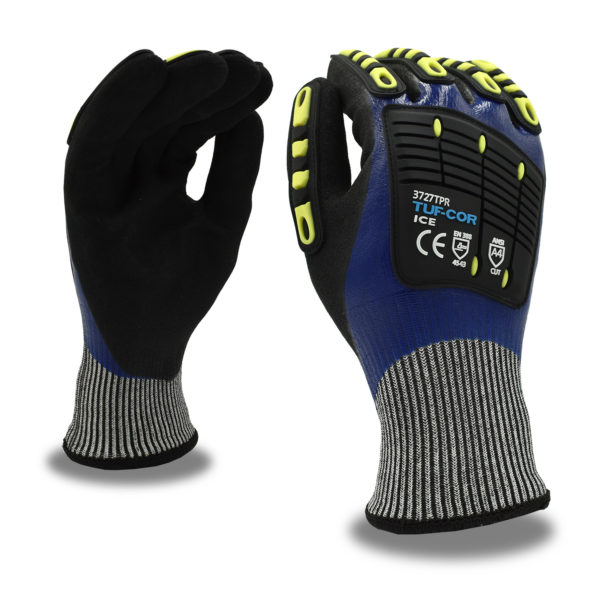 tuf-cor cut resistant thermal glove A4 with tpr and splash protection