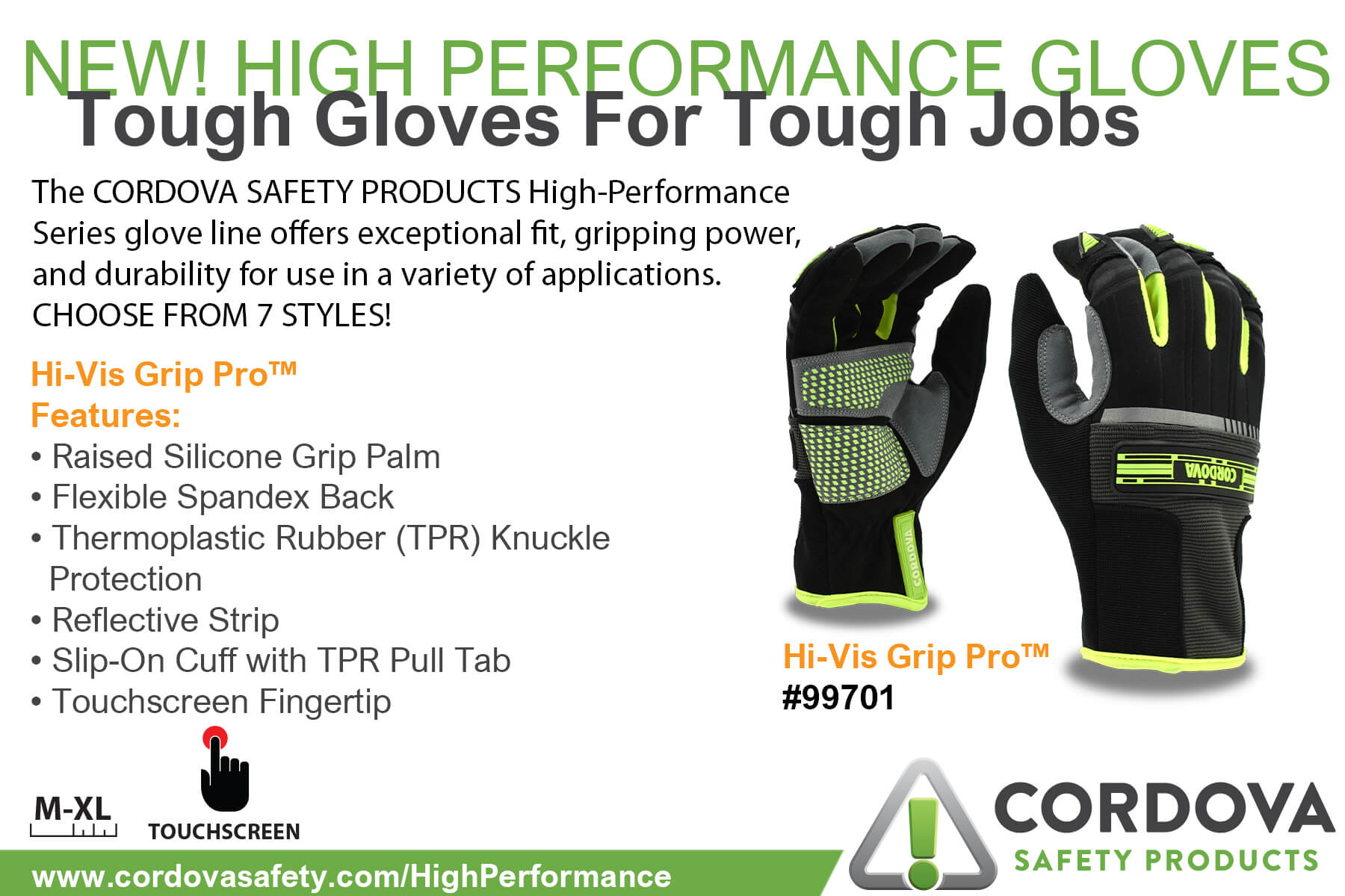 99701 Tough Gloves