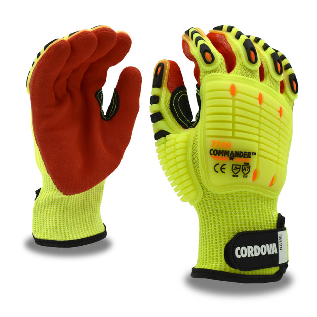Commander Hi-vis Glove with TPR
