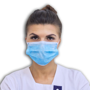 disposable ear loop face mask small