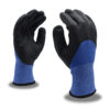 Cordova Safety Products blue and black machine knit glove