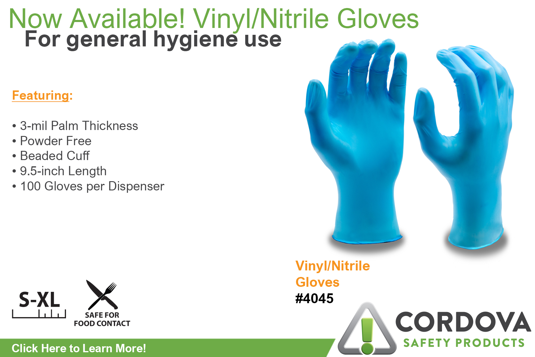 Vinyl/Nitrile Gloves 4045