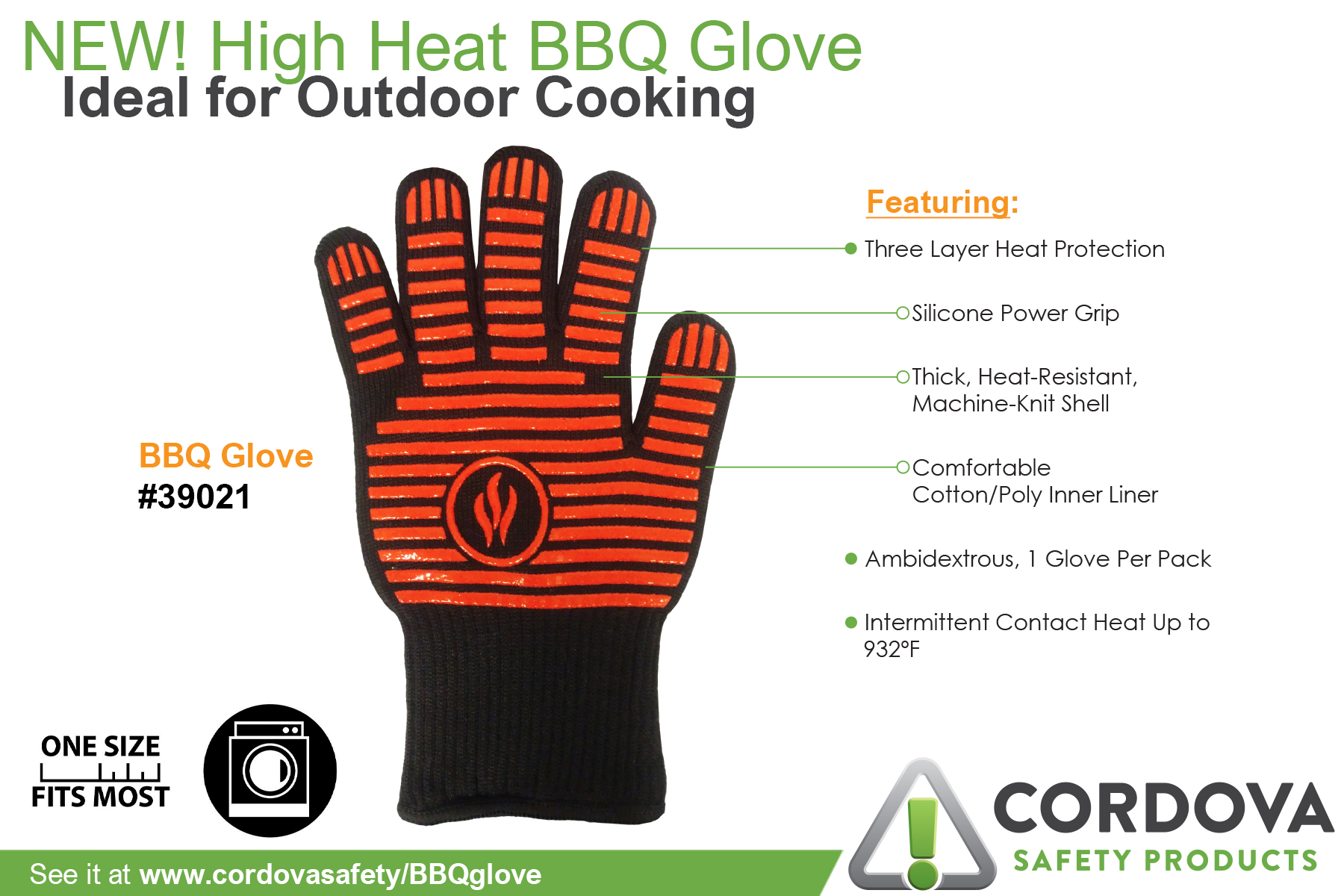 BBQ Gloves features