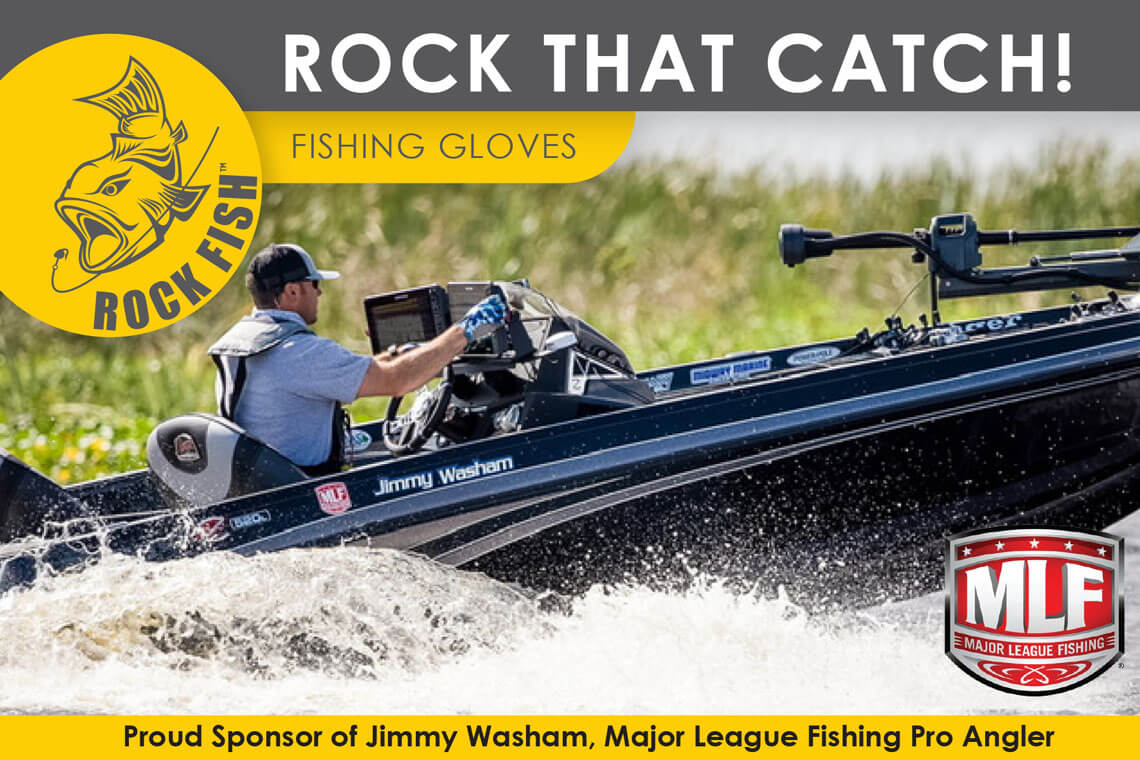 Jimmy Washam Fishing Gloves Sponsorship at Cordova Safety